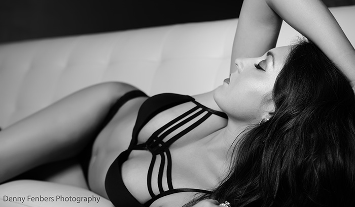 Boudoir on the Sofa - Denver Boudoir Photography