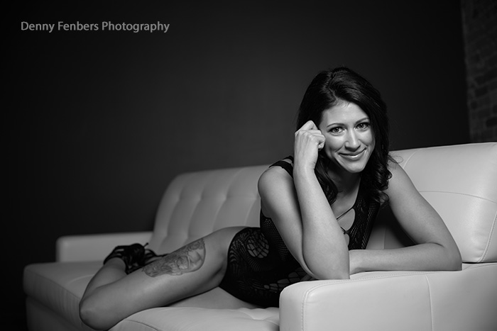 Boudoir on the sofa