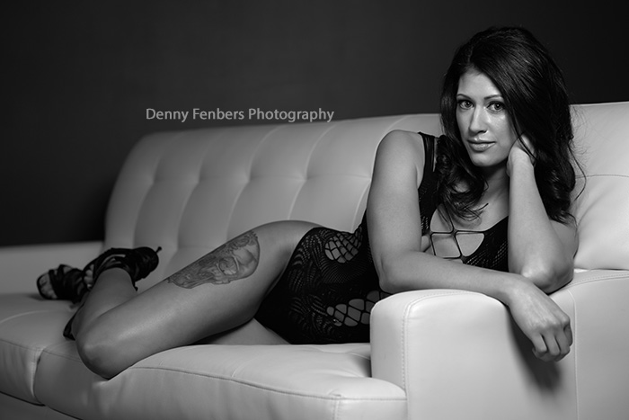Lingerie Denver Boudoir Photography Sofa