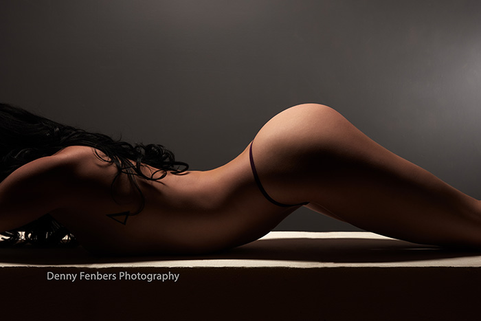 Artistic Nude Arched Abstract Denver