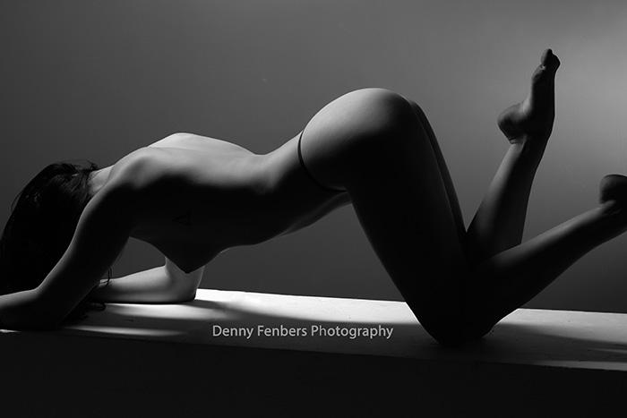 Artistic Nude Partial Silhouette Colorado Intimate