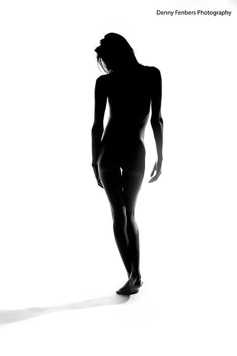 Standing Silhouette - Artistic Nude
