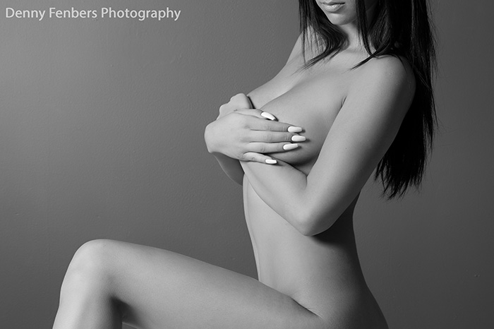 Implied Nude black and white