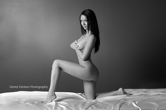 Implied Nude on Bed