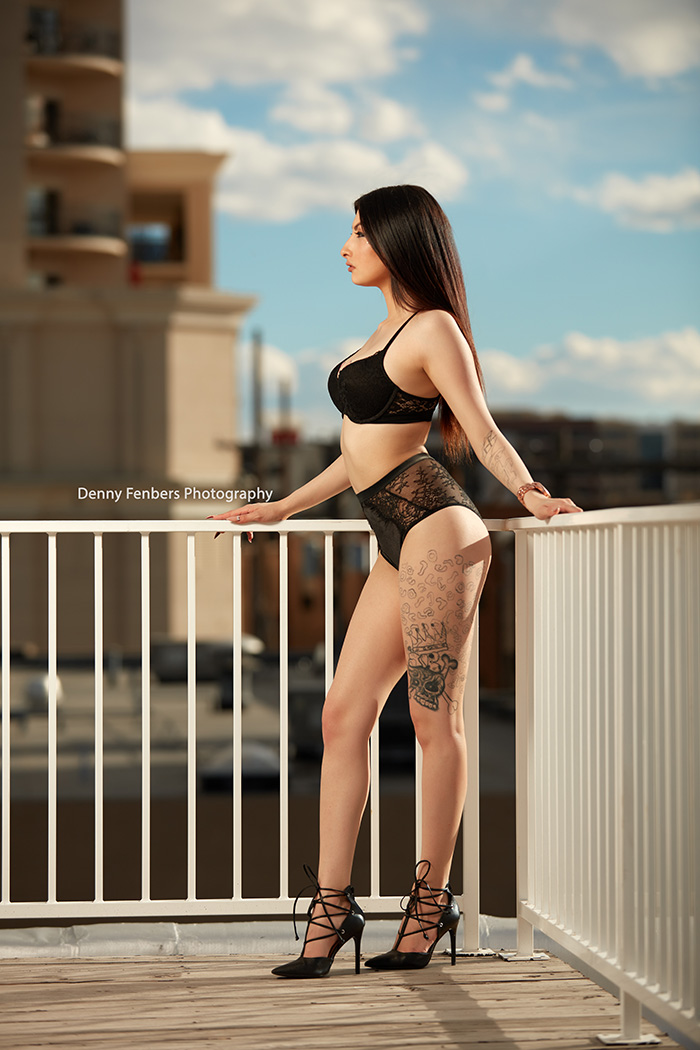 Denver Outdoor Boudoir Lingerie Color