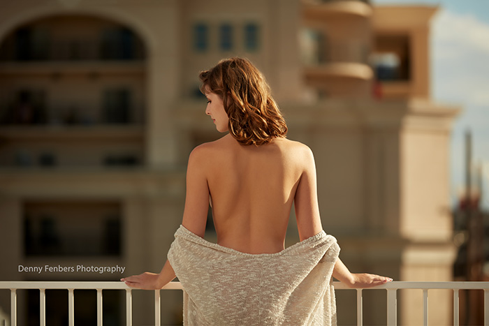 Outdoor Boudoir Topless Elegance