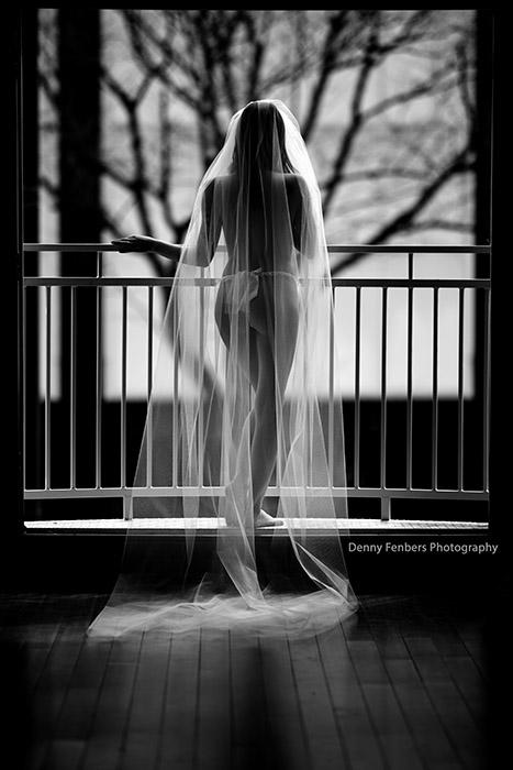 Denver Bridal Boudoir Veil
