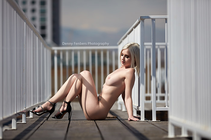 Naked Boudoir Denver Rooftop